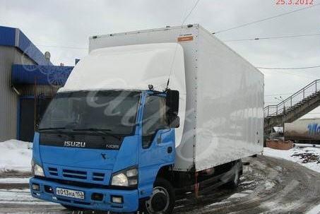 Заказать Услуги грузоперевозки фургоном 5 тонн