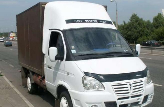 Order Services of a cargo transportation Gazelle