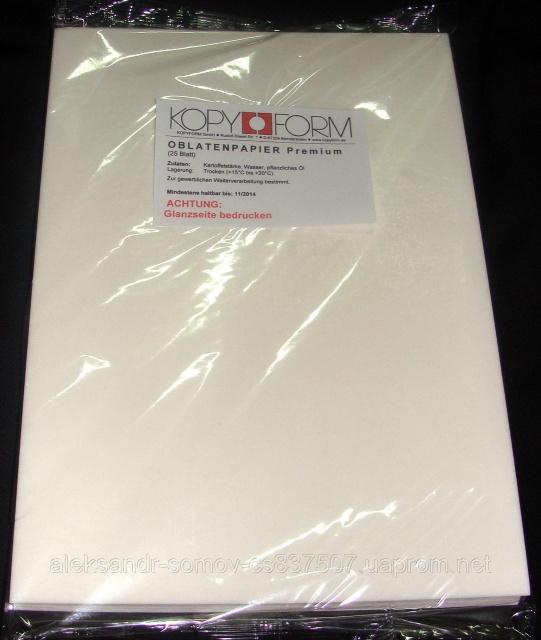 Заказать Бумага вафельная для пищевого принтера kopyform Premium