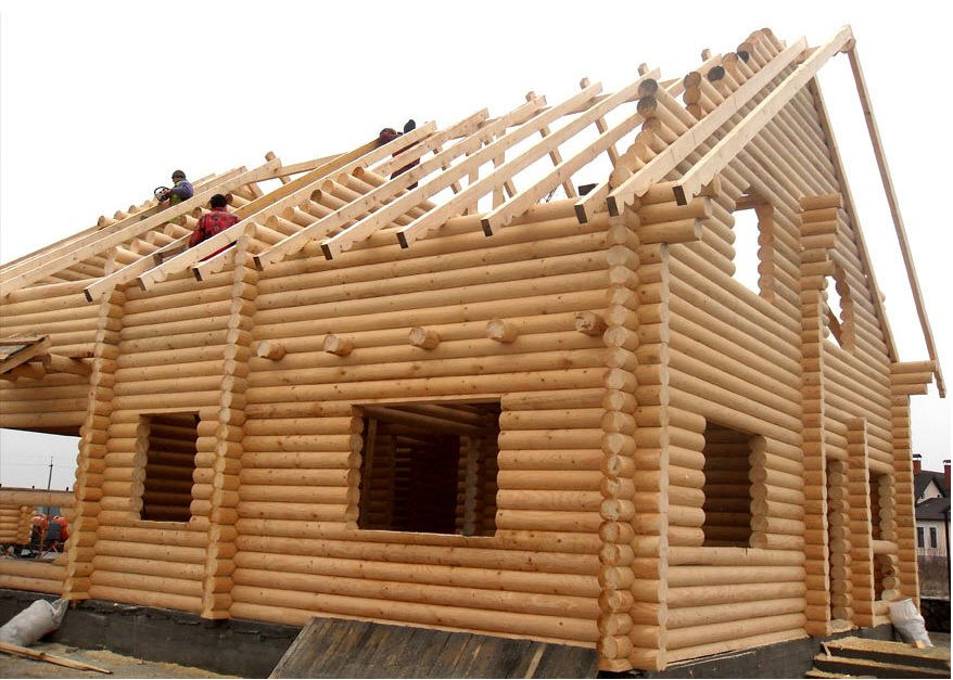 Заказать Строительство деревянных зданий