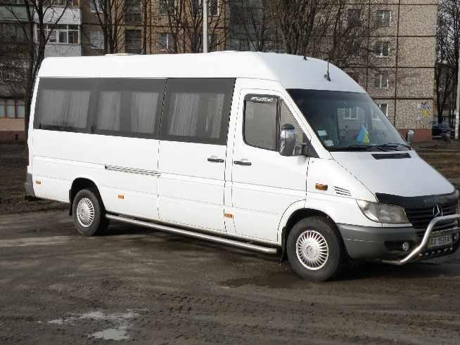 Заказать Заказ автобуса Mercedes Sprinter 18 мест.