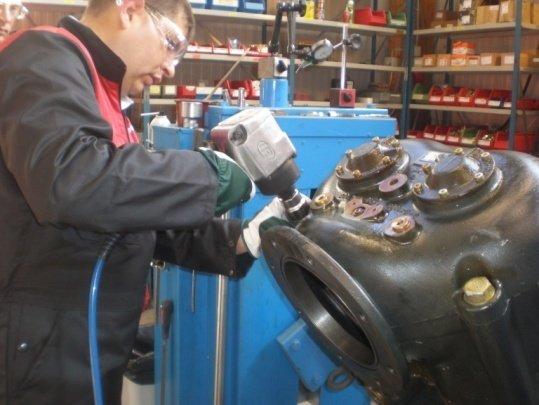 Order Repair of compressors