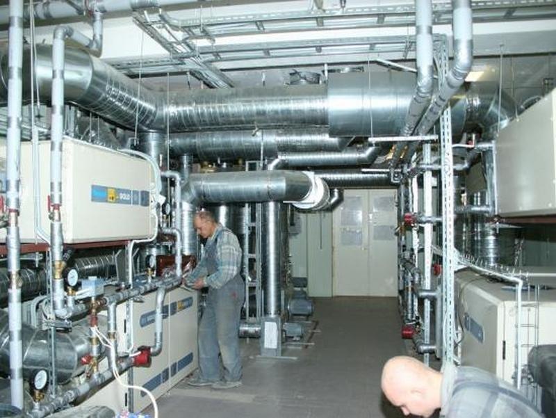 Заказать Монтаж и обслуживание систем вентиляции