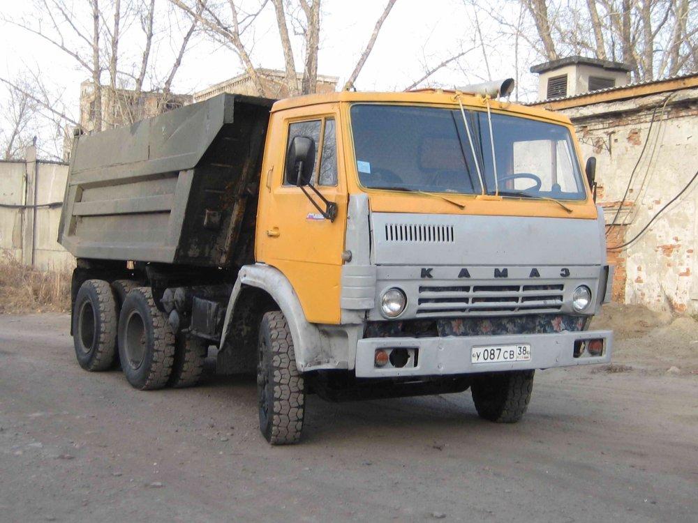 Заказать Услуги самосвала КАМАЗ 55111
