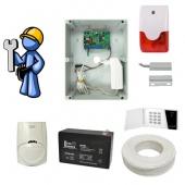 Охранная сигнализация Стандарт для квартиры, офиса с GSM-дозвоном