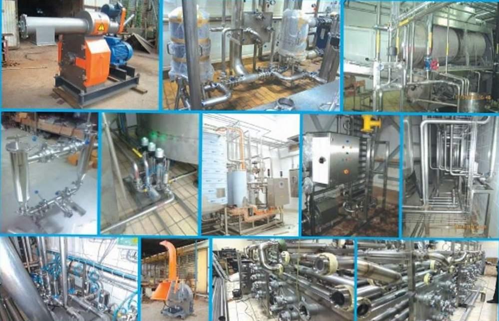 Изготовление оборудования из нержавеющих сталей для пищевой промышленности