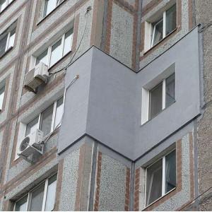 Внешнее утепление стен квартир, высотные работы