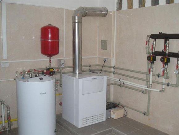 Заказать Установка газового котла мощностью свыше 32 кВт
