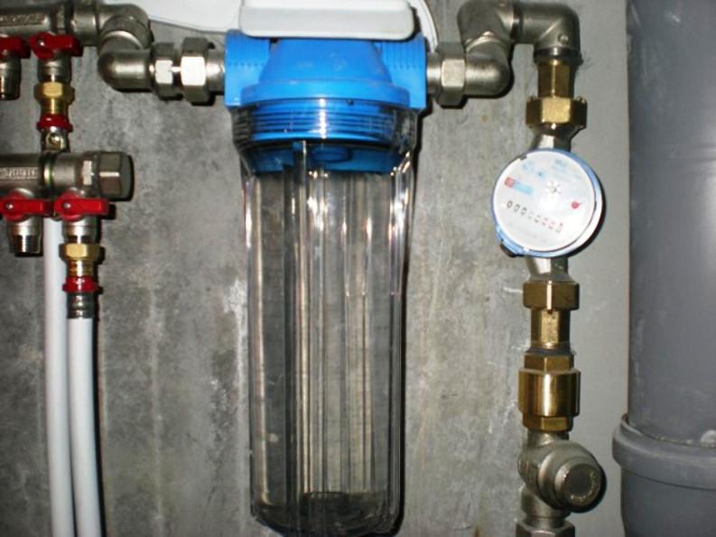 Заказать Установка фильтра глубокой очистки воды