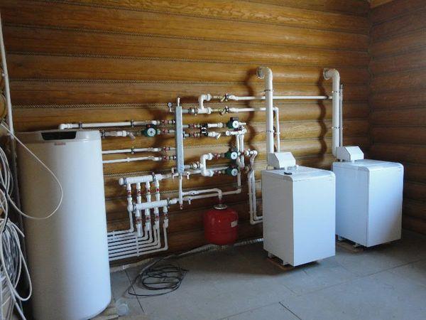 Заказать Установка электрического котла до 28 кВт с бойлером косвенного нагрева до 300л
