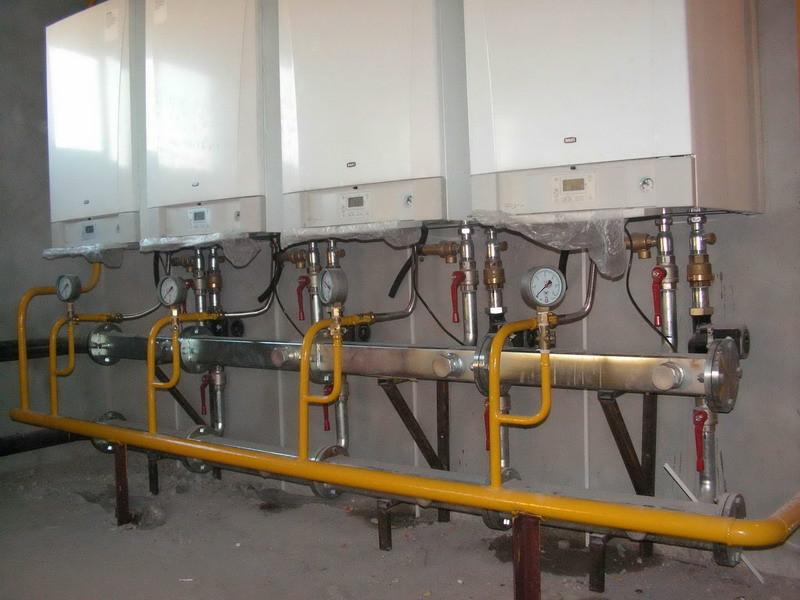 Заказать Установка электрического котла свыше 28 кВт с бойлером косвенного нагрева свыше 300л