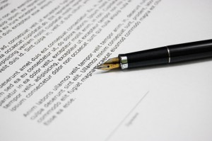 Order Registration of allowing documents
