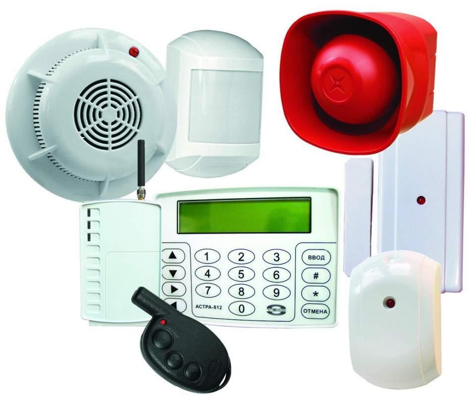 Заказать Монтаж систем охранной и пожарной сигнализации