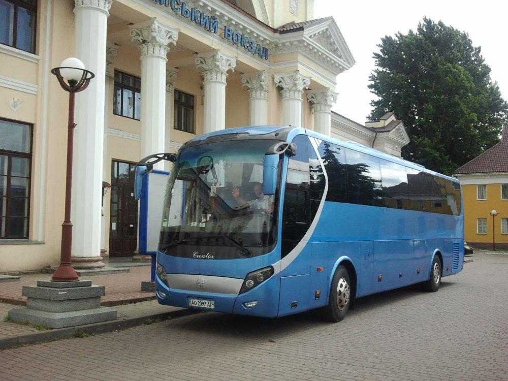 Заказать Международный автобусный рейс Будапешт - Чоп - Будапешт
