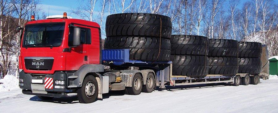 Straßentransport von übergroßen Ladung