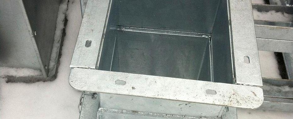 Заказать Изготовление металлоконструкций из оцинкованной стали