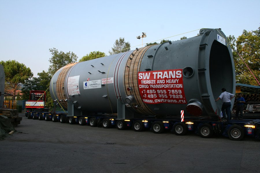 Международные перевозки тяжеловесных грузов