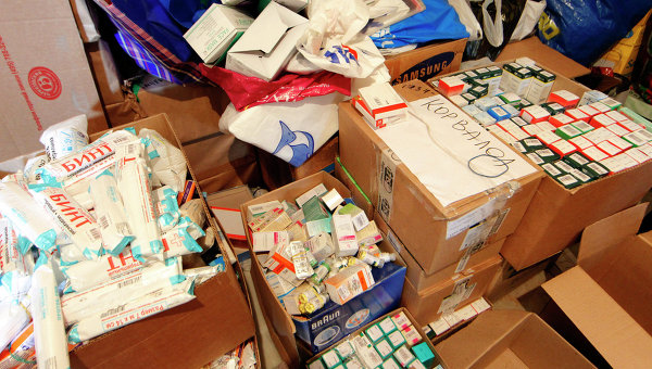 Доставка гуманитарной помощи
