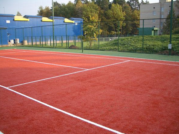 Заказать Строительство теннисных кортов