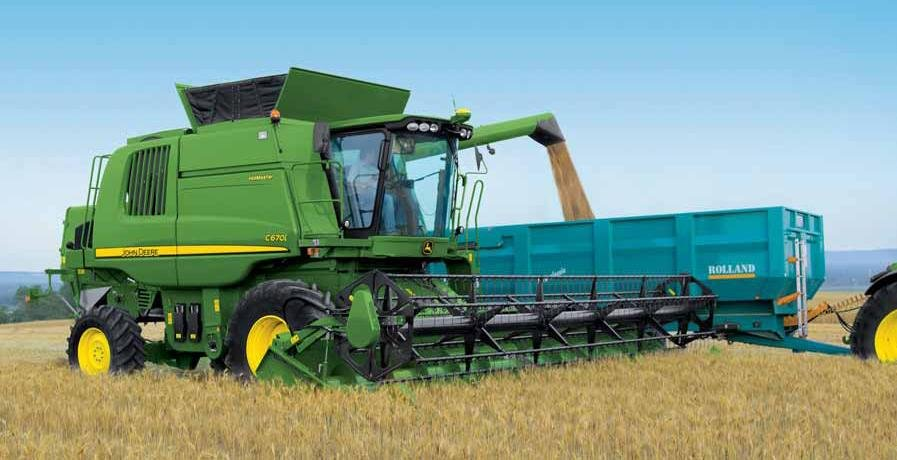 Заказать Уборка урожая сельскохозяйственных культур комбайнами класса ДжонДир