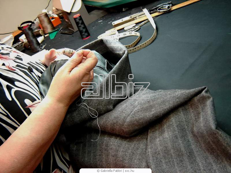 Заказать Пошив мужской одежды