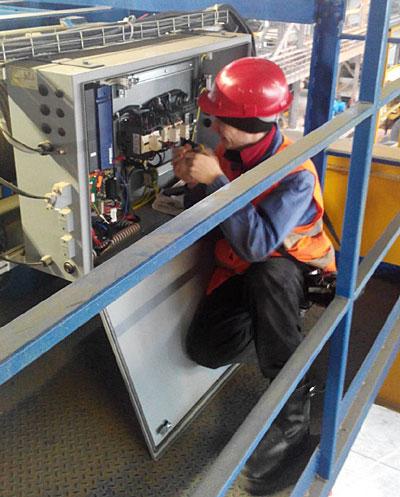 Заказать Модернизация кранов за счет перевода привода крана на частотное регулирование