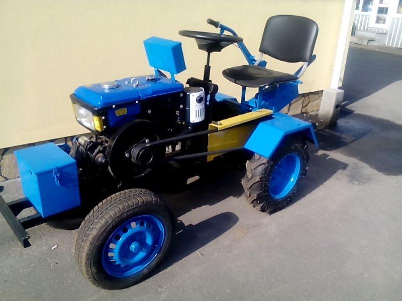 Заказать Переробляємо мотоблоки в міні-трактори