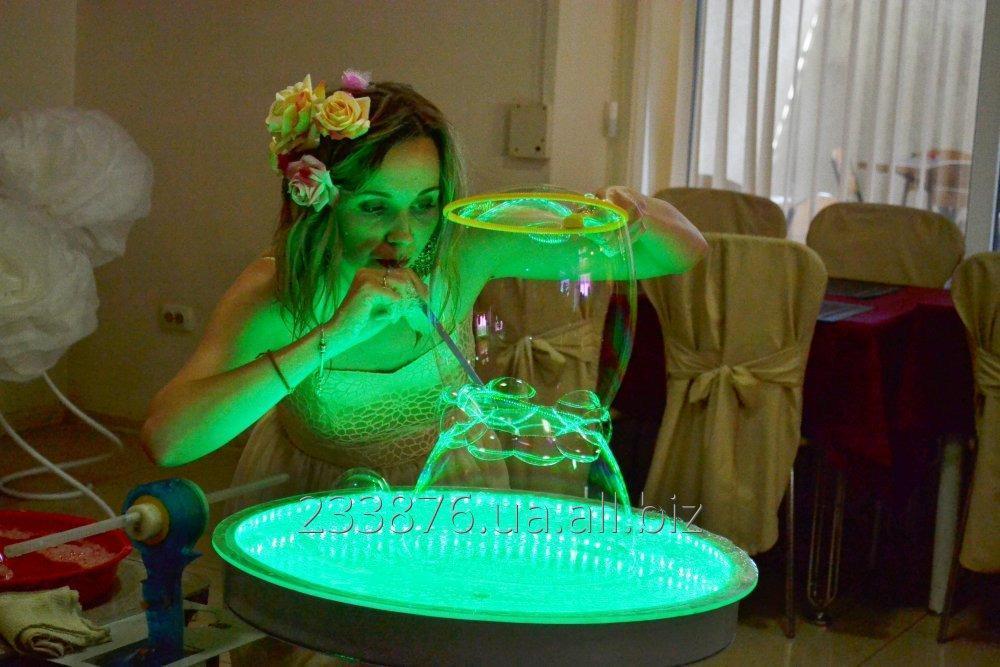 """Заказать Шоу гигантских пузырей от Art-studio """"ANIMATO"""" в Кировограде"""