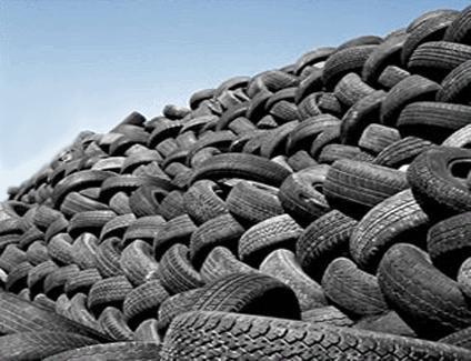 Заказать Утилизация изношенных шин и не только