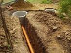 Заказать Монтаж системы канализации на участке