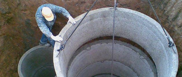 Заказать Установка бетонного септика под ключ на участке