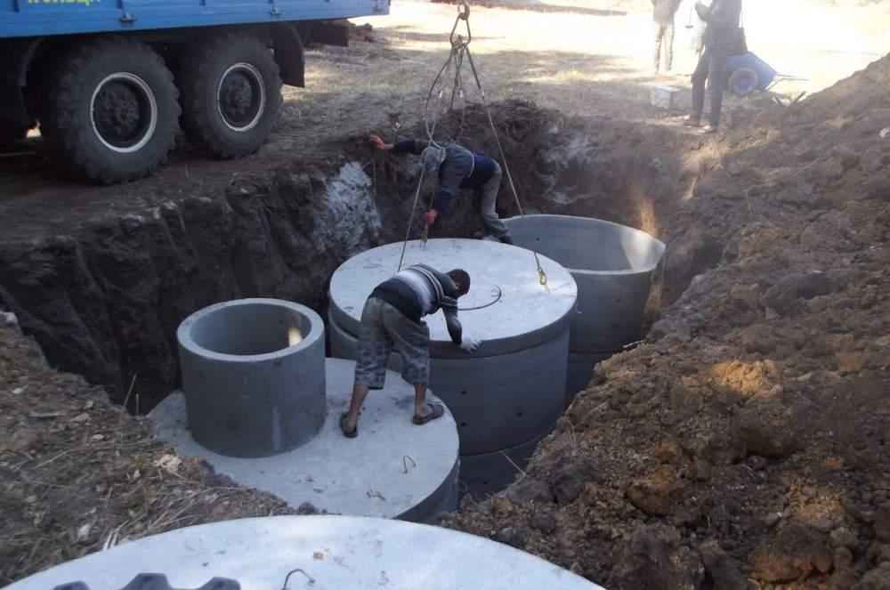 Заказать Строительство сливной ямы в частном доме