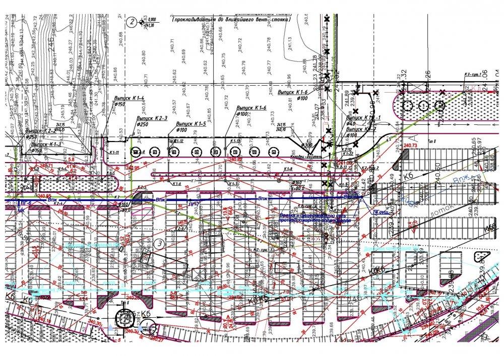Заказать Проектирование наружных сетей ливневой канализации