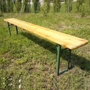 Заказать Лавка деревянная раскладная