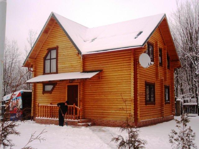 Заказать Козацкий хутор -деревянный дом из оцилиндрованного бревна