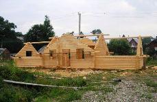 Заказать Как мы строим деревянные дома из бруса