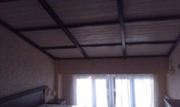 Заказать Потолок деревянный, фальш-балки
