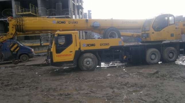 Заказать Услуги Автокрана 30 тонн 38 м - стрела