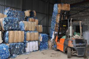Переробка відходів поліетилена