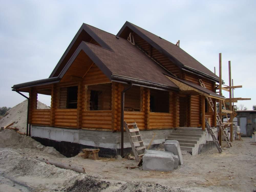Заказать Строительство домов из Сруба