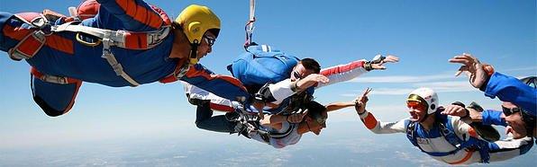 Заказать Прыжки с парашютом во Львове