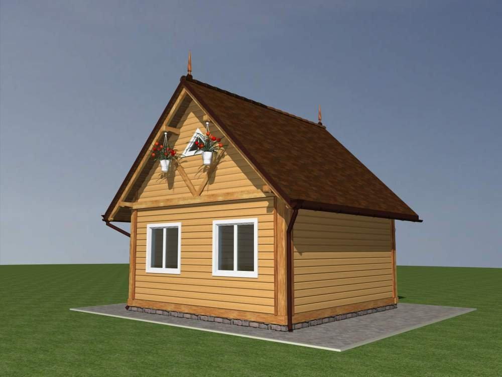 Заказать Строительство каркасных дачных домиков