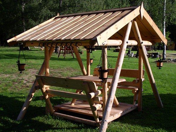 Заказать Изготовление и установка беседок из дерева