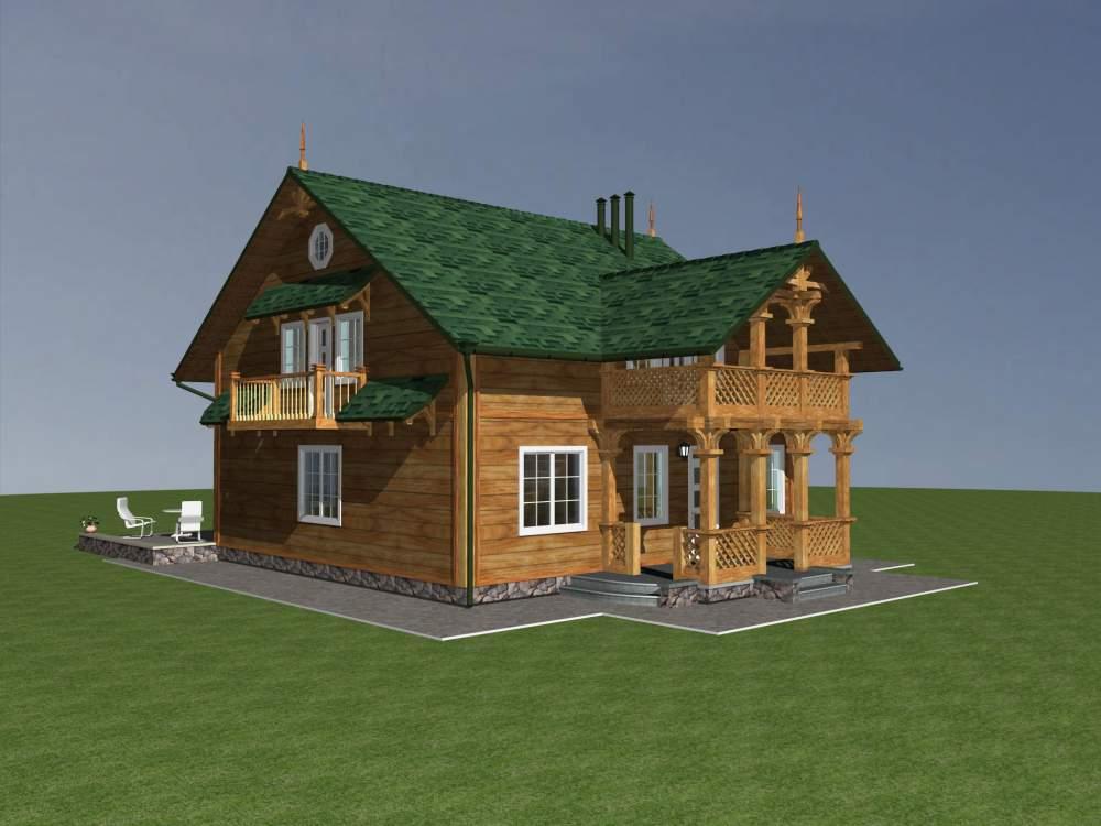 Заказать Строительство домов каркасных деревянных Украина