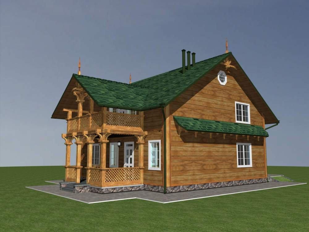 Заказать Каркасные дома из дерева