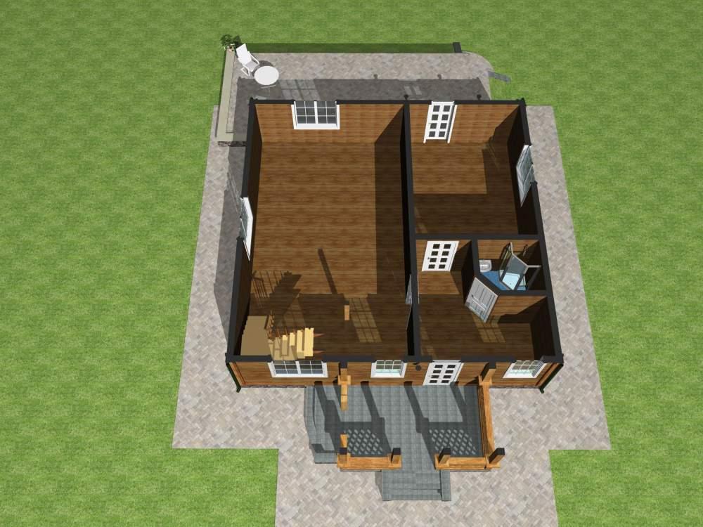 Заказать Строительство загородных каркасных домов Украина