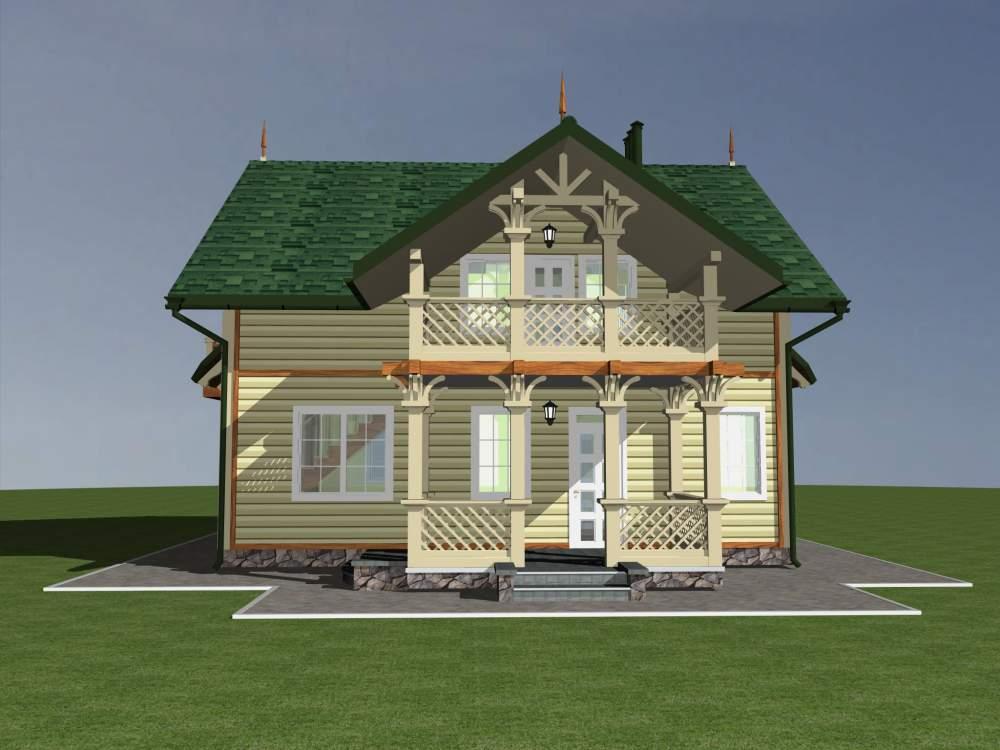 Заказать Изготовление каркасных домов под ключ Украина