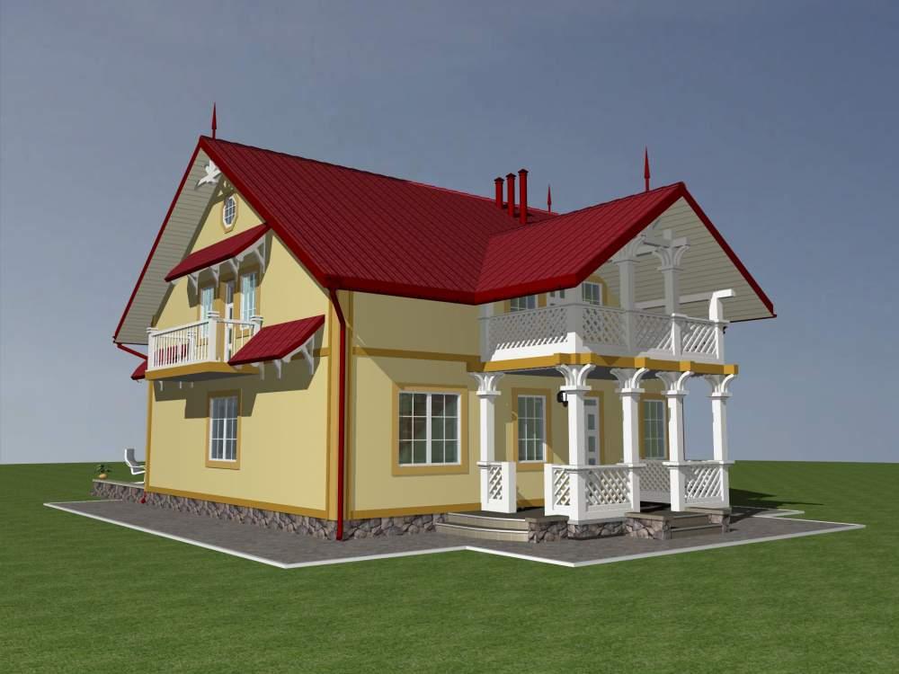 Заказать Строительство домов каркасных деревянных