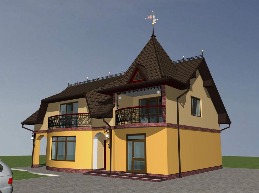 Заказать Проектирование коттеджей Украина