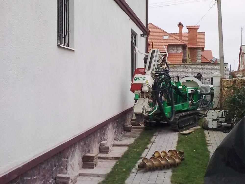 Анкеровка подпорных стен в Одессе и области